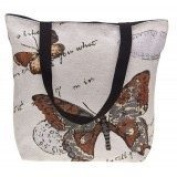 Equilibrium Butterfly Tote Bag