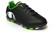Uhlsport Shoes Football JR Junior XGR KIKKSOKKE 1.10-1008074-01-Anthracite/30-Green