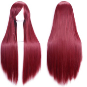 Wei Ni Si Women Long Cosplay Party Straight Wig 80cm