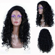MeiruiHair Hair Long Wavy Hair Full Head Wigs for Women Synthetic Wigs High Quality Natural Beauty and Romantic ,Long Wavy Hair