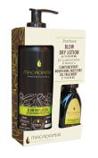 Macadamia Professional Blow Dry Lotion with Free Oil 30 ml - Pack of 2