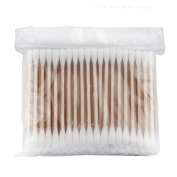 Shot--In 100 pcs Double-head Cotton Swab Stick Foundation Makeup Cosmetic Tool