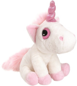 Suki Gifts Mystical Little Peepers Bella Unicorn Soft Boa Plush Toy