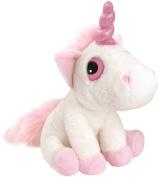Suki Gifts Mystical Little Peepers Bella Unicorn Soft Boa Plush Toy