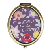 Find Beauty Everyday Watercolour Floral Compact Mirror