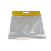 Bags Of Bags BOBZFH1413Y Zipafile Storage Bags 25Pk Yellow