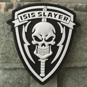 Isis Slayer Morale Patch - PVC Morale Patch, Velcro Morale Patch By NEO Tactical Gear