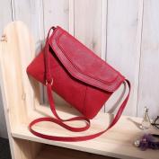 Vintage Women's Messenger Bag - Red