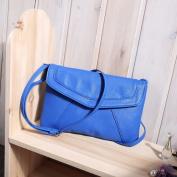 Vintage Women's Messenger Bag - Blue