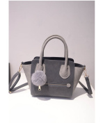 Factory Outlet Trapeze Bag - Grey