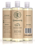 Sandalwood men body wash - The best moisturising natural body wash for men - A shower gel 100% made in the USA. Lathers amazing with a long lasting scent.