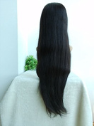 Top Quality Length 60cm Hair,indian Remy Hair in Stock,natural Colour Natural Straight,human Hair Full Lace Wig Sale Online