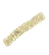 TdZ Elegant Sparkle Jewel French Hair Barrette
