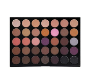 Morphe Pro 35 Colour Eyeshadow Makeup Palette - Matte (Highly Pigmented) 35N