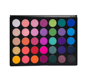 Morphe Pro 35 Colour Eyeshadow Makeup Palette - GLAM (High Pigmented) 35B