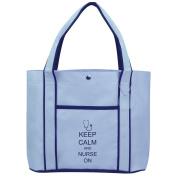 Fashion Tote Bag Shopping Beach Purse Keep Calm and Nurse On