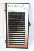 Premium Eyelash Extension Winklash Mix Size Silk C Curl .10mm 8-14mm 16 Rows in 1 Tray