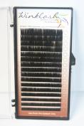 Premium Eyelash Extension Winklash Mix Size Silk C Curl .10mm 8-14mm 16 Rows in 1 Tray