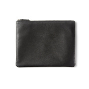 Medium Pouch - Full Grain Leather - Black Onyx