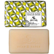 Petite Shea Soap Bar Lemon Verbena 90ml by The Soap & Paper Factory