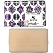 Petite Shea Soap Bar Lavender 90ml by The Soap & Paper Factory