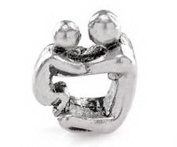 Scott Allah Design - Father Son Mother Daughter Parent Child Baby Family Love Bond Charm Bead