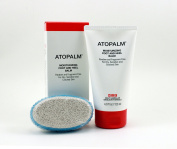 Atopalm Moisturising Foot and Heel balm with Massaging Pumice Stone