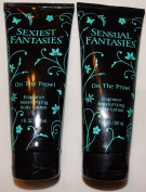 Sensual Fantasies & Sexiest Fantasies On The Prowl Fragrance Body Lotion 210ml Each