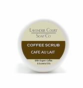 Lavender Court Soap Company Café Au Lait Coffee Scrub