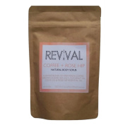 Revival Body Care Organic Body Scrub - Coffee + Rose Hip