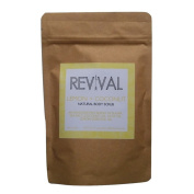 Revival Body Care Organic Body Scrub - Lemon + Coconut