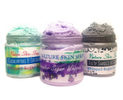 Detox Whipped Sugar Scrubs (Set of 3)