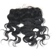 Rossy & Nancy 6A Brazilian Virgin Hair Body Wave Lace Frontal Closure 13*6 Bleached Knots with Baby Hair