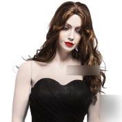 Coolsky 60cm Soft waves Women Wig Long Crul Party wig Sexy . Cosplay