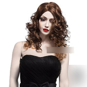 Coolsky 60cm Women Hair Wig Soft Wig Long Curl Wig Sexy Stylish Cosplay