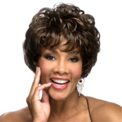 B-G Charming Fashion Hairstyles Synthetic Short Curly Hair Wig for Women with 1 Free Wig Cap WIG021