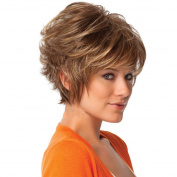 B-G Charming Wig Synthetic Short Fashion Bob Wigs Healthy Women's Wigs-for Bald Women +A Free Wig Cap WIG024