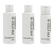 Hahoniko Happy Life Hahoniko Kola Silk 18 mini set shampoo 30ml, treatment 25g, oil 10ml