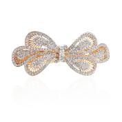 Hair Bows Clips Crystal Hair Barrettes Butterfly Hairpins