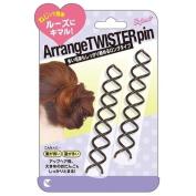 LUCKY TRENDY Hair Arrange Twister Pin, Long, 0.2kg
