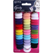 Goody Ouchless Ponytailer, Tiny Terry, 42 Count