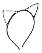 Bari Lynn Cat ears crystallised Black