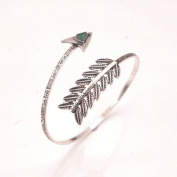 Classy Bohemian Ethnic Cion Collection Silver Beach Bracelet