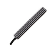BANDED Houndstooth 2.5cm Headband