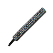 BANDED Lavender Geometric 2.5cm Headband