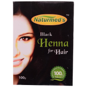 NATURMED'S Black Henna For Hair 100 Grms
