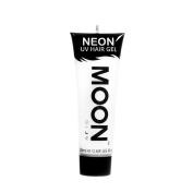 Moon Glow UV Neon Hair Gel White 20ml