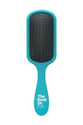 The Knot Dr. Pro Brite Hybrid Detangler Paddle Brush, Marine Blue Handle with Black Brush Face
