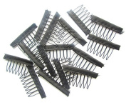 30pcs Lace Wig Comb for Wig Caps Hair Extension Small Wire Clips Styling Tools