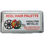 Reel Creations Reel Hair Palette, Highliter Metallic